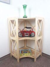 Holzregal gr. Eckregal 3 Kiefer Natur neu, Kombinationen möglich, Wohnraum, Büro
