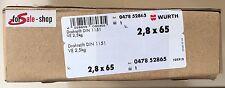 Würth Drahtstift Nagel Nägel DIN 1151 Stahl blank 2,5 KG 2,8x65 047852865