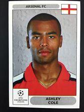 Ashley Cole Rookie RC Sticker Panini Champions League 2000 2001 #103