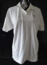 REEBOK - Poloshirt Weiß Damen Sport  Bekleidung Shirts Poloshirt 42-44 wie Neu