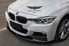 Bmw 3 series F30 F31 M-Performance Style Carbon front lip Msport bumper only