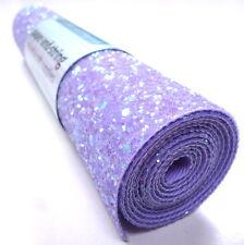 CHUNKY Glitter Material / Fabric MINI ROLL sew, glue or die cut, 18 colours