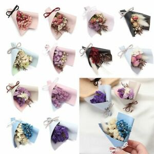 Mini Decorative Photo Backdrop Decor Real Happy Flower Natural Dried Flowers