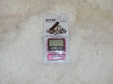 GYMBOSS interval timer Stopwatch - Pink Camo Pink gloss NEW gym boss