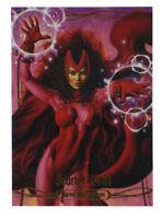2016 Upper Deck Marvel Masterpieces Scarlet Witch Base Card #48 Joe Jusko 50/99