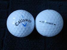"""20 CALLAWAY BLUE TICK  - Golf Balls - """"PEARL/A"""" Grades."""