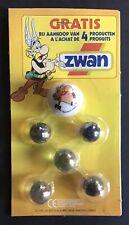 Astérix Set of Marbles by Zwan Wedge Obelix 1997 Mint