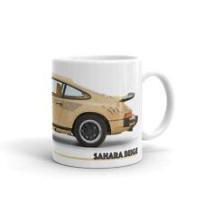 Porsche Mug — Sahara Beige – 930 Turbo