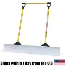 "The Snow Plow 48"" Snow Shovel with Double Fiberglass Handle 50549"