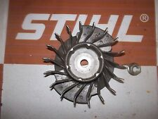 genuine Stihl HS45 petrol hedge trimmer flywheel and nut