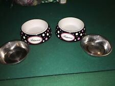 cat bowl set With Leash,collar And Harness