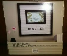 Letter Board With Photo Frame Includes 145 Letters & Characters