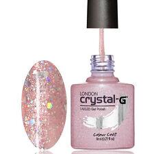 """Crystal-G DIAMOND Range """" D16-PINK LOVE """" 8ml UV/LED Soak Off Gel Nail Polish"""