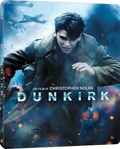 DUNKIRK  STEELBOOK  - BLU RAY  BLUE-RAY GUERRA
