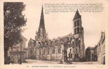 AUTUN-OGGETTO D'ANTIQUARIATO Cattedrale Sant' Lazare