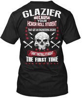 Glazier Honor Roll - Because Your Student That Got An Hanes Tagless Tee T-Shirt