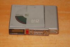 Sony Portable Mini Disc Player Recorder Walkman Mz-R37 Silver Part Repairs Error