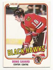 DENIS SAVARD 1981-82 O-pee-Chee Rookie *See Scans for Condition* Chicago BV25