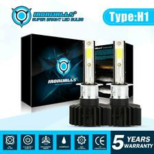 2X H1 High Beam LED Headlight Bulbs Kit Super Bright 6000K For Ford Fiesta C-Max