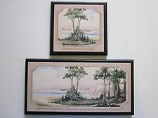 Peaceful Oasis Wall Decor Plaques.Trees Water, Spa Bath Signs relaxing bathroom