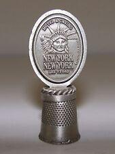 Fort Pewter Souvenir Collectible Thimble - New York, New York Casino - Las Vegas