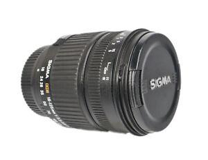 Sigma DC 18-125mm f3.5 Zoom Nikon Fit  Lens, Versatile, Tested + Caps