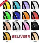 Beliveer 3D Printer Filament 1.75mm 1KG PLA PETG Various materials Consumables
