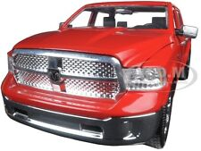 2014 DODGE RAM 1500 PICKUP TRUCK RED WITH EXTRA WHEELS 1/24 BY JADA 97224