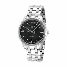 Tissot Men's T0659301105100 Automatics 39.7mm Black Dial Stainless Steel Watch