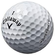 24 Callaway Supersoft Mint AAAAA Used Golf Balls Free Shipping