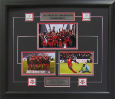 Toronto FC 20x24 Frame 2017 MLS Soccer Cup Finals Champions 3 Picture Pin Plaque