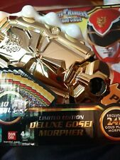 Power Rangers 24k Gold Gosei Morpher in Box