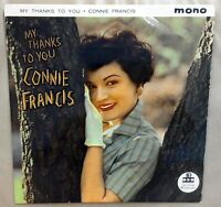 Connie Francis My Thanks To You Excellent Vinyl LP Record MGM C 782 MONO