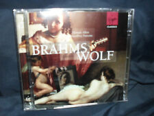 Brahms/Wolf-Canzoni-tutti i/Parsons - 2cds