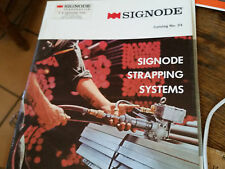 Signode Strapping Systems Catalog No. 24