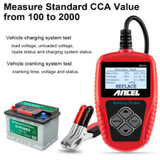 Ancel 12V Auto Car Battery Load Tester Analyzer Analysis Tools 100-2000CCA BA101