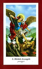 SANTINO - HOLY CARD- IMAGE PIEUSE - Heiligenbild -  S.MICHELE ARCANGELO