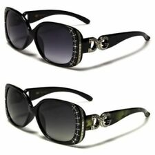 Gafas de sol de mujer diseñadores negro negro