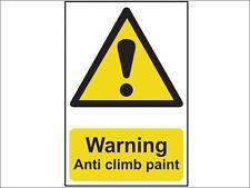 Scan - Warning Anti Climb Paint - PVC 200 x 300mm