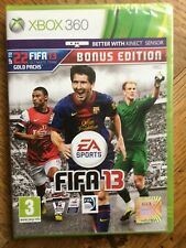 FIFA 13 Bonus Edition (case knife mark on sleeve) - Xbox 360 UK Sealed!