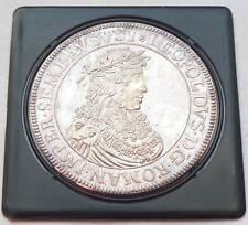 "Reichstaler 1683 Kaiser Leopold I. Wien  ""Türkenpoldl""  - Silber 1000 in 43mm"