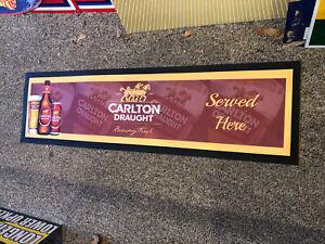 Carlton Draught Reproduced Bar Mat