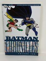 DC BATMAN CHRONICLES Volume 10 Ten Graphic Novel  TPB