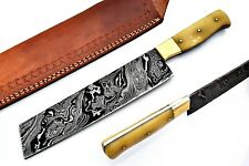 Custom Handmade Damascus Chef Knife/Kitchen Knife SS-17291