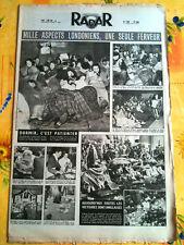 RADAR 7/6/1953 Mille aspect Londoniens, 1 seule Ferveur