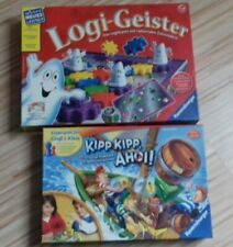 2 Ravenburger Spiele Logi-Geister / Kipp Kipp Ahoi !