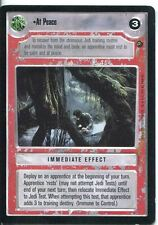 Star Wars CCG Dagobah Limited BB At Peace