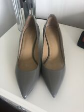 Michael Kors Grey Kitten Heel Cout Shoe Size 9M/ 40