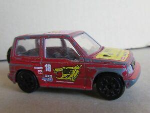 48N Burago 4112 Italy Suzuki Vitara #18 Kores Rally Raid 1:43 Bburago