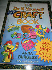 The First Do-It-Yourself Craft Book Pattern Gifts Burgess Kids Button Rug Pin
